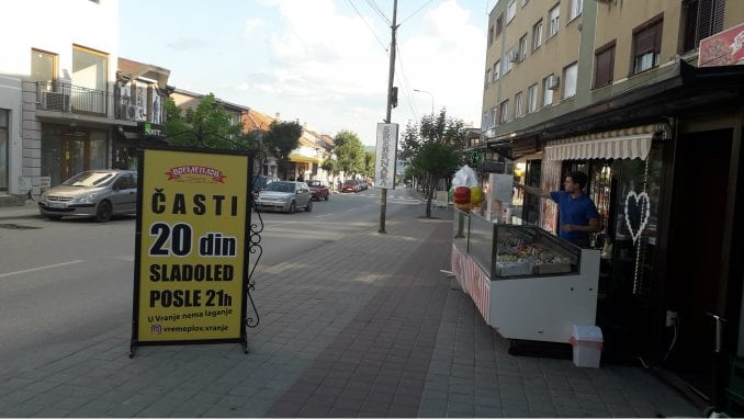 Kugla sladoleda posle devet uveče košta 20 umesto 50 dinara 1