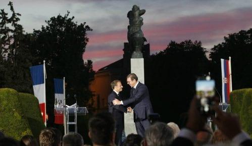 Makron u Srbiji: Francuska nikada neće zaboraviti žrtvovanje srpskog naroda 6