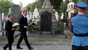 Makron u Srbiji: Francuska nikada neće zaboraviti žrtvovanje srpskog naroda 11