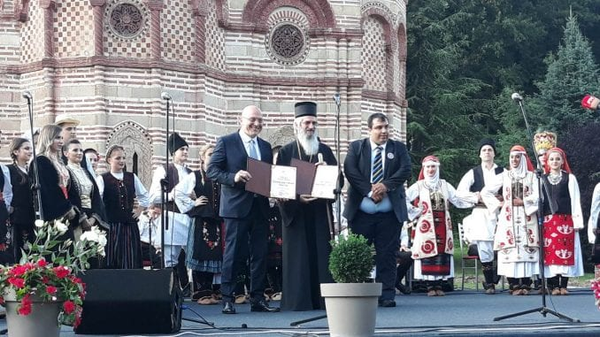 Ministar Vukosavljević otvorio 50. Levački sabor 1