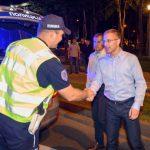 MUP: Tokom noći 227 saobraćajnih prekršaja, 56 vozača pod dejstvom alkohola kažnjeno 5