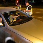 MUP: Tokom noći 227 saobraćajnih prekršaja, 56 vozača pod dejstvom alkohola kažnjeno 6