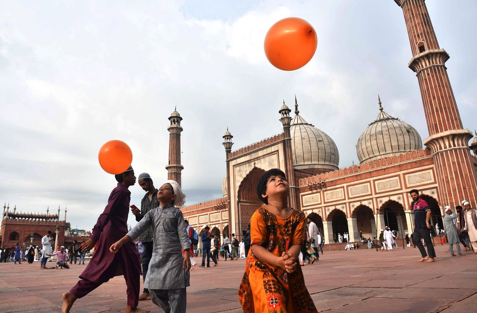 Džamija u Nju Delhiju
