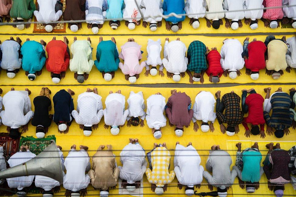 Molitva u Indiji