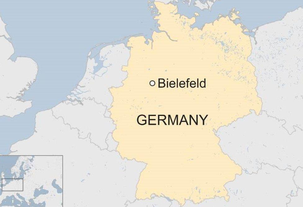 Bielefeld map
