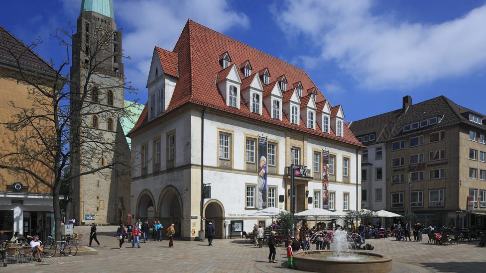 Old Market, Bielefeld, file pic