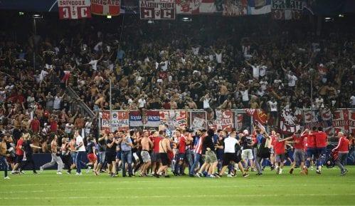 Uefa čeka izveštaj delegata o navijačima Zvezde 12