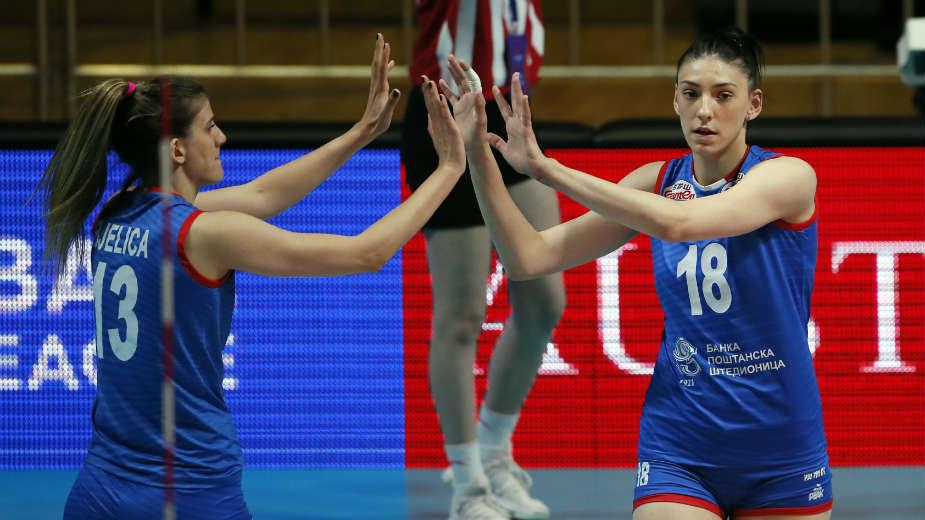 Odbojkašice Srbije pobedom počele OI, savladana Dominikanska Republika 1