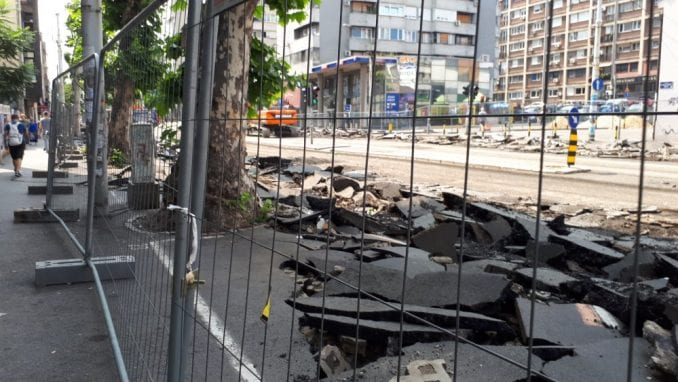 Zbog prekrajanja planova još veće gužve u centru Beograda od 1. septembra 2
