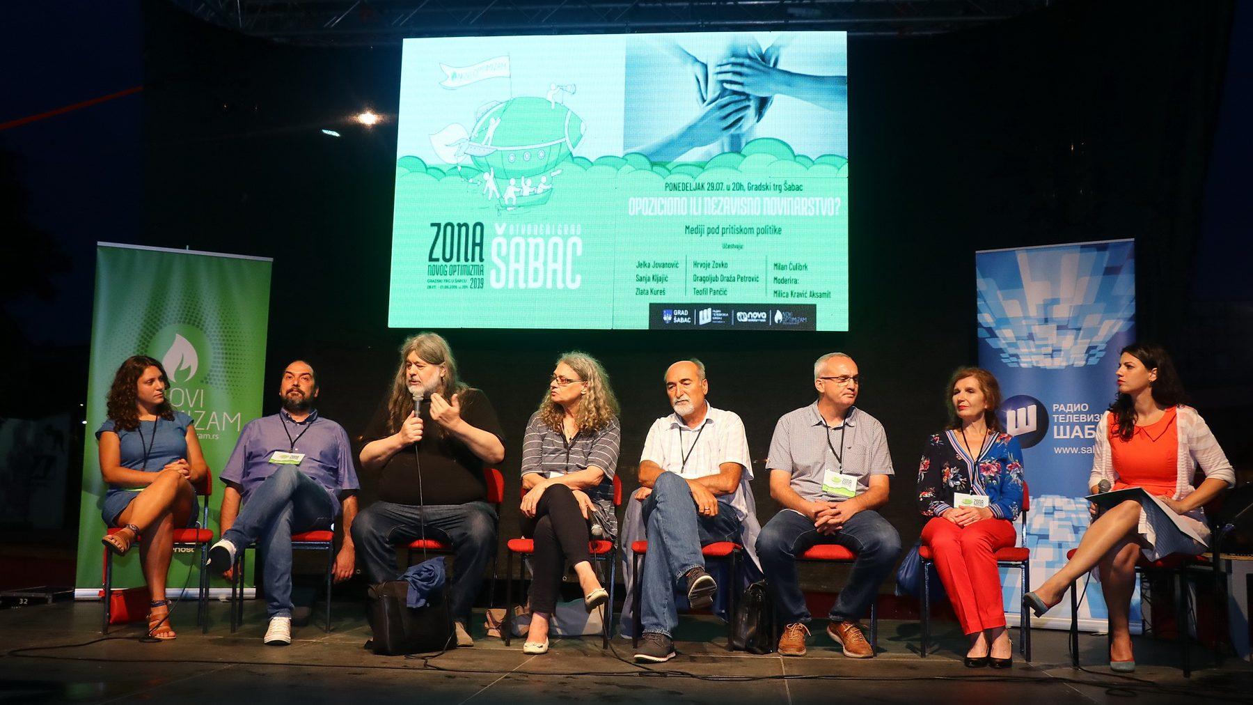 """Sa """"Zone Novog Optimizma"""" u Šapcu poslata poruka solidarnosti 1"""