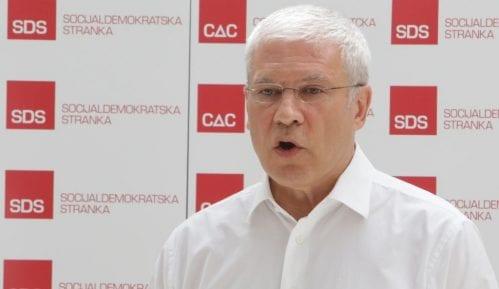 Tadić: U Srbiji nema uslova za elementaran politički život, a kamoli za dijalog 12