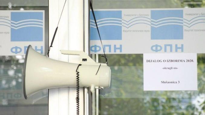 Antonijević: Povišeni tonovi na temu biračkih spiskova na FPN 2