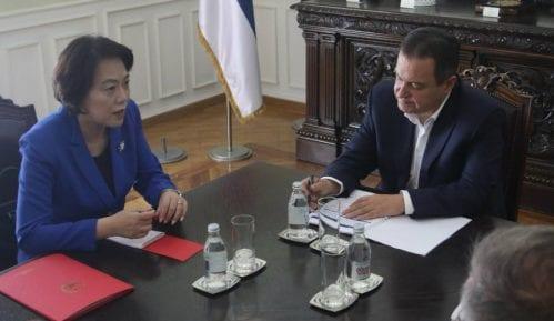 Dačić i Čen Bo o saradnji 7