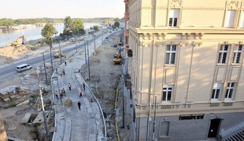 Nova stranka: Zatvaranje Karađorđeve ulice će tek sad onemogućiti saobraćaj u Beogradu 3
