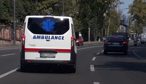 U sudaru u centru Beograda povređeno šest osoba, među kojima i beba 9