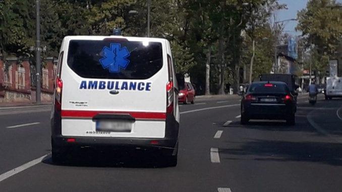 U sudaru u centru Beograda povređeno šest osoba, među kojima i beba 2