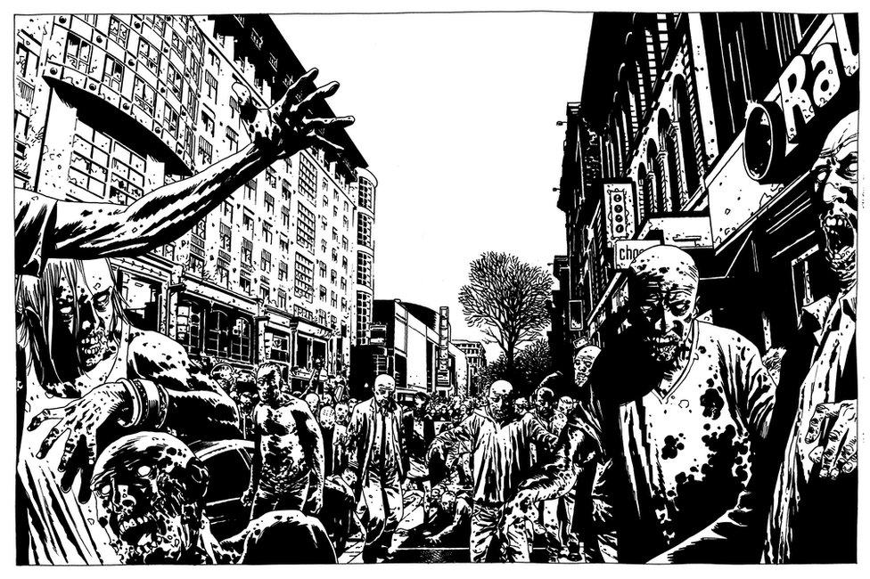 The Walking Dead artwork