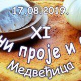 """""""Dani proje i sira"""" 17. avgusta u naselju Medveđica 6"""