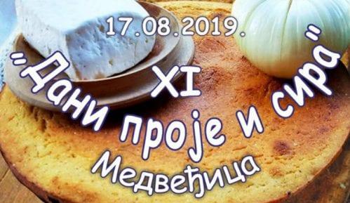 """""""Dani proje i sira"""" 17. avgusta u naselju Medveđica 1"""