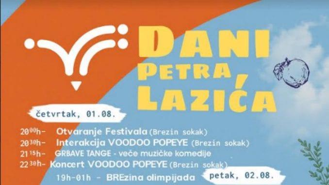 Drugi Dani Petra Lazića od 1. do 3. avgusta u Kosjeriću 2