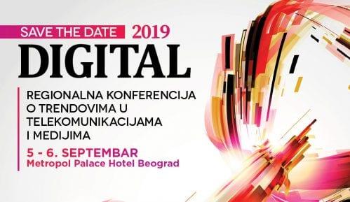 """Konferencija """"Digital"""" 5. i 6. septembra u hotelu Metropol 3"""