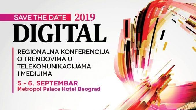 """Konferencija """"Digital"""" 5. i 6. septembra u hotelu Metropol 4"""