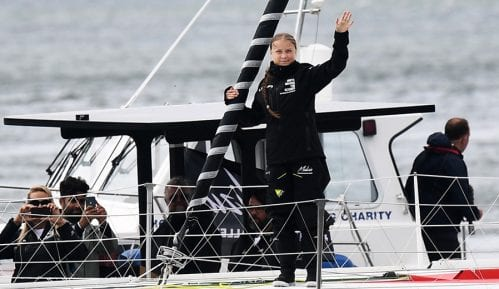 Greta Tunberg krenula jedrilicom iz Velike Britanije ka Njujorku 15