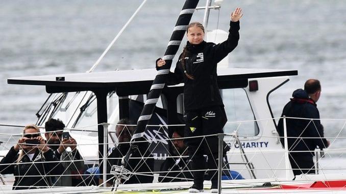 Greta Tunberg krenula jedrilicom iz Velike Britanije ka Njujorku 1