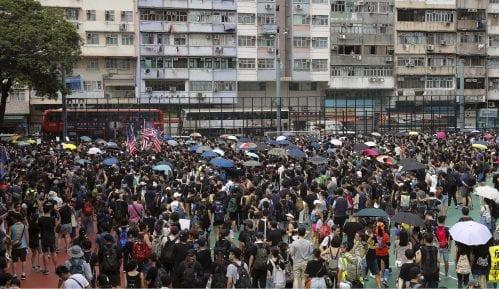 Hiljade demonstranata na ulicama Honkonga uprkos zabrani okupljanja 2