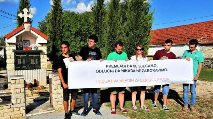 Mladi iz Srbije i Hrvatske zajedno obeležavaju zločin u Oluji 1
