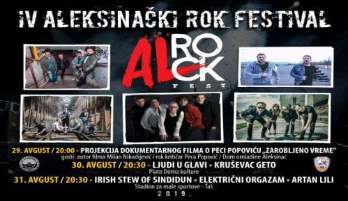 Al rok fest četvrti put u Aleksincu 2