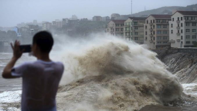 Novi bilans: U Kini 45 mrtvih u naletu tajfuna 3