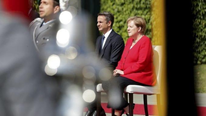 Premijer Grčke s kancelarkom Merkel o problemu duga, a i ratnih reparacija 1