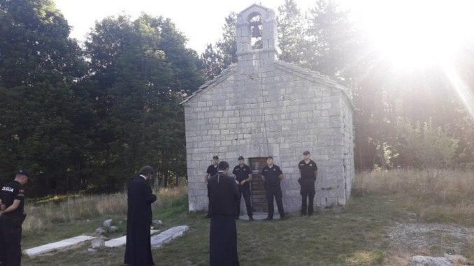 Zabranjena liturgija u crkvi na Ivanovim koritima 4