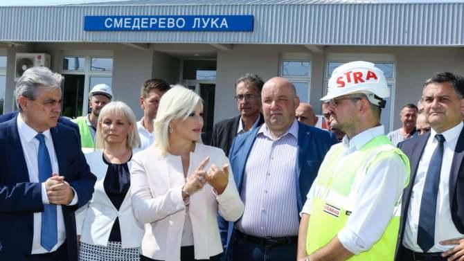 Mihajlović: Smederevo će biti čvorište za teretni saobraćaj 1