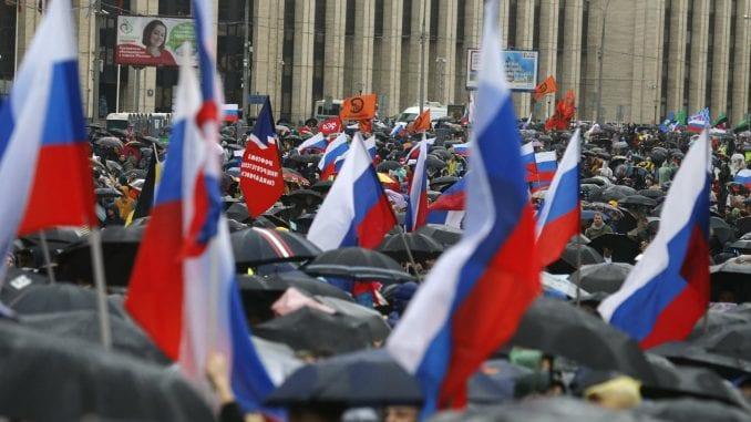 Nekoliko hiljada ljudi na protestu opozicije u Moskvi 4