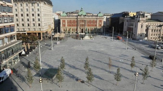 "Vesić: U vreme utakmica poseban prostor za navijače ""Zvezde"" i ""Partizana"" na Trgu republike 3"