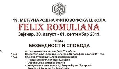 Međunarodna filozofska škola u Romulijani 5