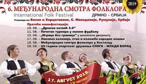Šesta Međunarodna smotra folklora 17. avgusta u Drmnu 1