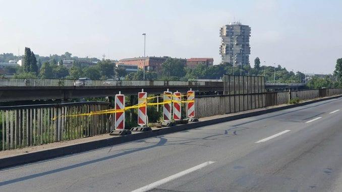 Radovi na sanaciji ograde na Pančevačkom mostu danas i sutra 1