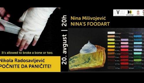 """Radovi Nine Milivojević i Nikole Radosavljevića u užičkom """"Reflektoru"""" 1"""