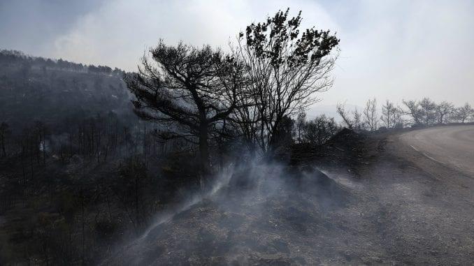 Požar i dalje pustoši grčko ostrvo Eviju 2