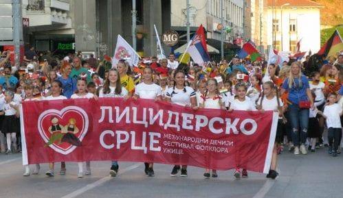 """Počeo Međunarodni dečji festival folklora """"Licidersko srce"""" 13"""