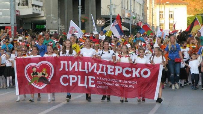 """Počeo Međunarodni dečji festival folklora """"Licidersko srce"""" 2"""