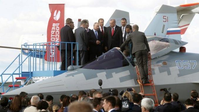 Erdogan zainteresovan i za kupovinu najnovijih ruskih borbenih aviona 1