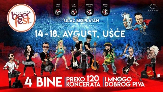 Rock opera na spektakularnom zatvaranju Belgrade Beer Fest-a u ponedeljak 1