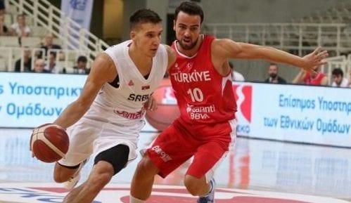 Ubedljiva pobeda srpskih košarkaša protiv Turske 3