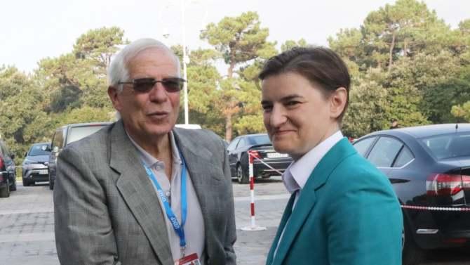 Brnabić: Borel mi je rekao da će mu jedan od prioriteta biti rešavanje Kosova 3