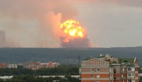Sahranjeni nuklearni inženjeri poginuli u eksploziji u Rusiji 1