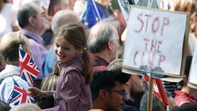 U Velikoj Britaniji protesti zbog odluke premijera o prekidu rada parlamenta 1